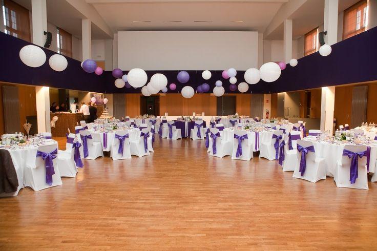mariage mauve and violettes on pinterest. Black Bedroom Furniture Sets. Home Design Ideas