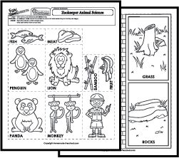 zookeeper coloring pages - photo#38