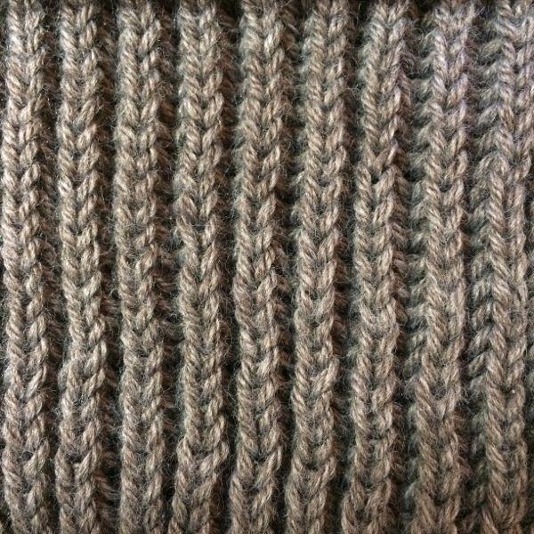 tricoter côtes perlées