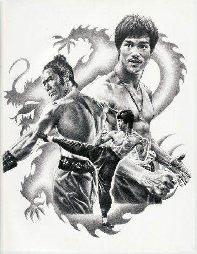 Bruce Lee Martial Arts Karate Stunt Boxing Movie 17.5×22.5 Rare Very Limited Poster Print Only on Amazon