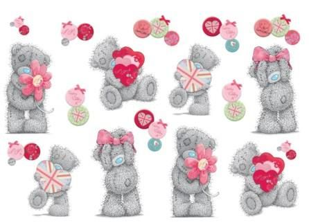 Stickers 'Tatty Teddy Love' – FUNTOSEE