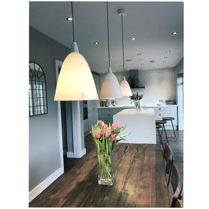 "6 Likes, 1 Comments - Emily Mehmet (@insidenumber10) on Instagram: ""#pendantlight #kitchendesign #interiordesign #interiorlovers #kitchenideas #farmhousediningroom…"""