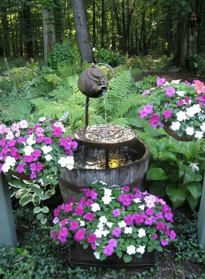 17 best images about diy water features on pinterest backyard ponds downspout ideas and water. Black Bedroom Furniture Sets. Home Design Ideas