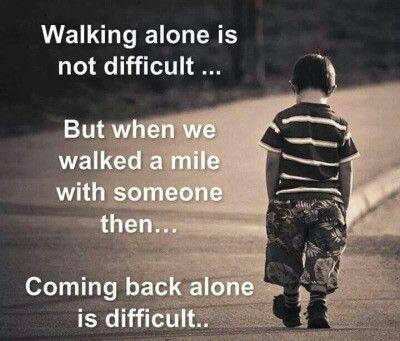 I STAND ALONE....