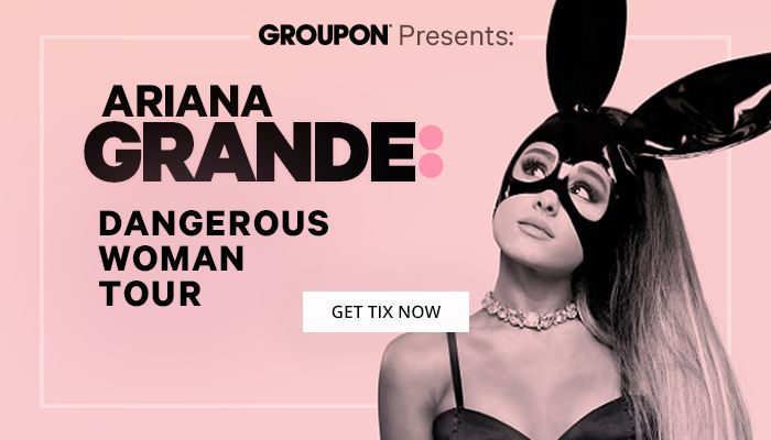 Save on Ariana Grande Tickets // Dangerous Women Tour