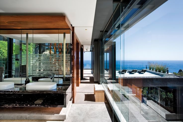 Bathroom and Patio design of Nettleton 198 by ARRCC. Architecture by SAOTA. inspiration, goals, ideas, design, furniture, decor