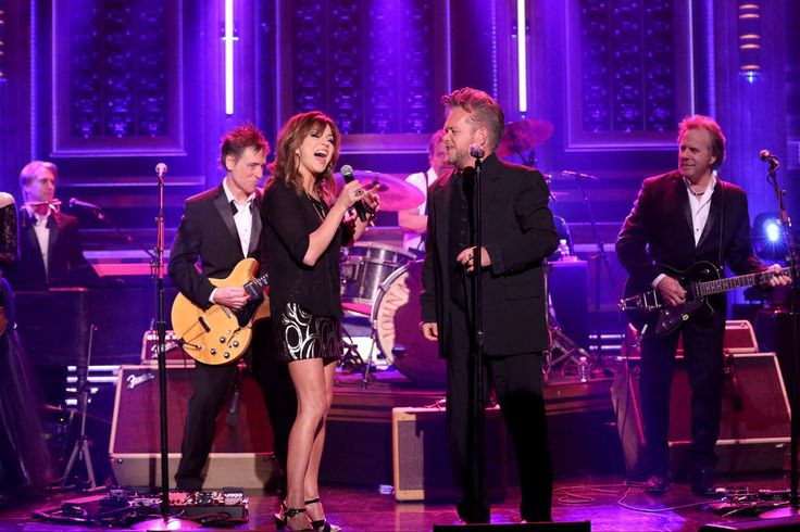 THE TONIGHT SHOW STARRING JIMMY FALLON: Musical guests John Mellencamp and Martina McBride perform on February 28, 2017...