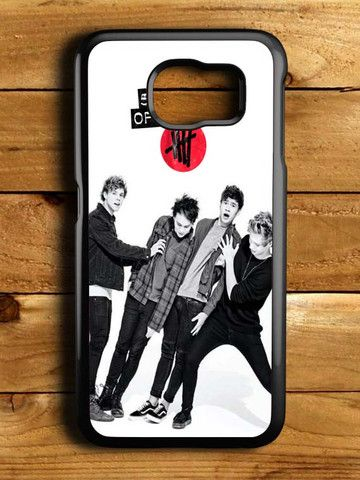 5sos 5 Second Of Summer Samsung Galaxy S6 Case