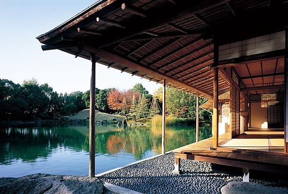 The Garden of Yokokan, Fukui pref. Japan