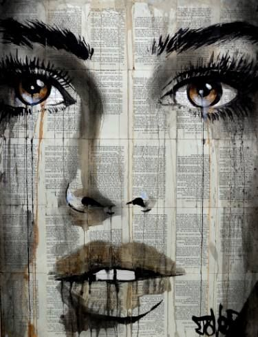 "Saatchi Art Artist Loui Jover; Drawing, ""maple"" #art"