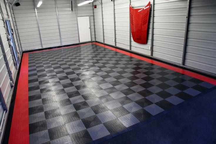 Bigfoot Rubber Garage Floor Tile