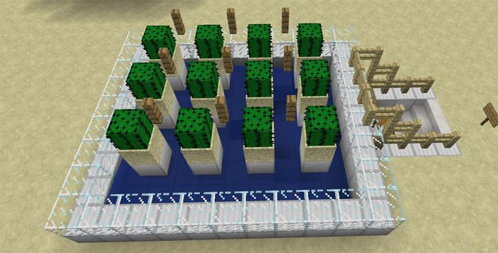 Building farms is a simple task in the survival world. The basic requirement is attempting to hold necessary items and blocks. Two main types of farms include automatic and semi-automatic farms. Automatic farms mean there is no need of human intervention in all of the processes. Founded by: MDS... http://mcpebox.com/12-useful-farms-survival-mode-redstone-map-minecraft-pe/