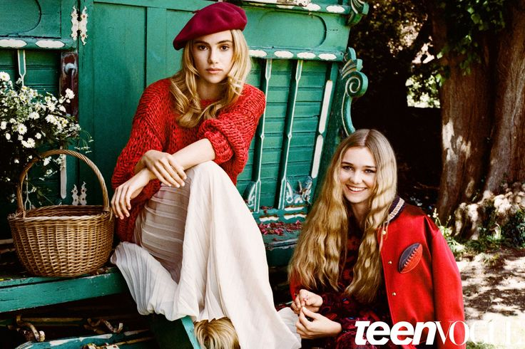 Suki and Imogen Waterhouse Photo Shoot in Teen Vogue's September Issue | Teen Vogue