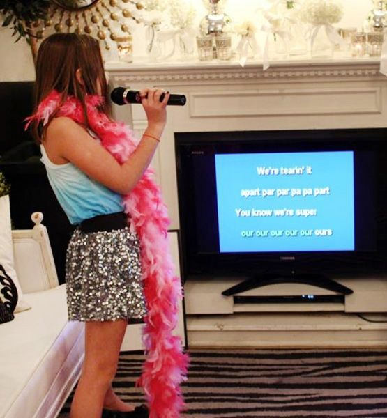 American Idol Karaoke - Outrageous Kids Birthday Party Trends