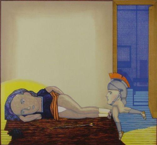Vrouw / Helm - Pat Andrea