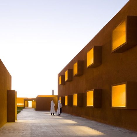 Plain Modern Architecture Morocco Technology School By Saad For Design Ideas