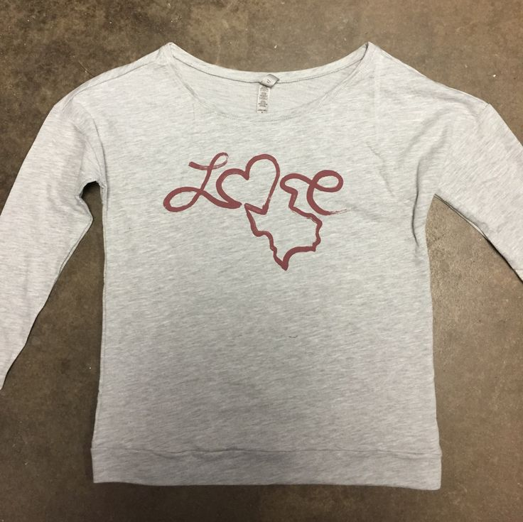 Love, Texas - Long Sleeve Scoop Neck #shoptwt