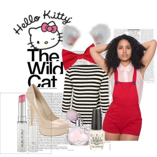 """""""DIY: Hello Kitty Costume"""" by mayannaxo on Polyvore"""
