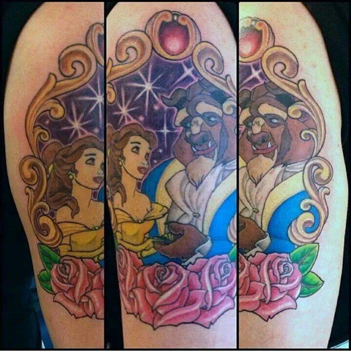 Beauty and the Beast tattoo | Disney | Pinterest | Beauty ...