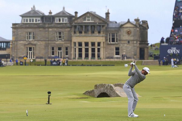 British Open 2015 TV schedule: Dustin Johnson leads the pack into Round 2 - CSMonitor.com