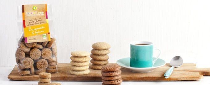 Biscuiterie de l'Uzège, Kocolo et Zaza, sablés, croquants, sans gluten