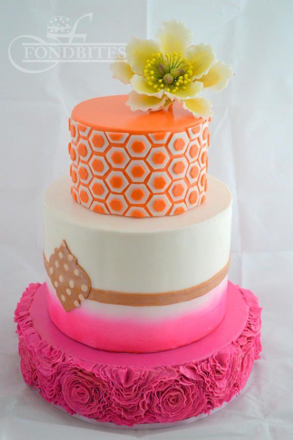 80 best Fabulous birthday cakes images on Pinterest Beautiful