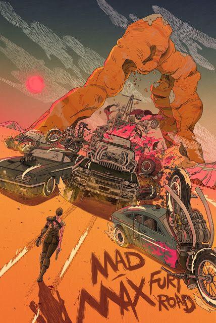 'Mad Max: Fury Road' by Yin Shian Ng