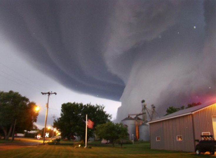 What strange weather storm phenomenon struck South Africa in July 1996?