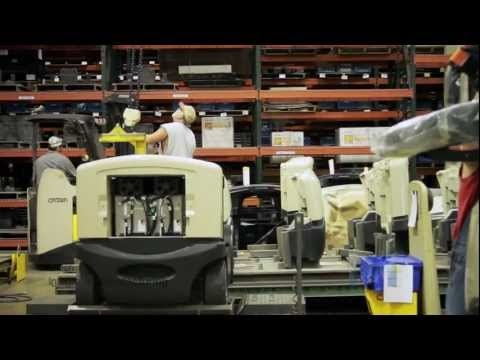 Crown Equipment -- Manufacturing Marvels: Crown Integrated Manufacturing