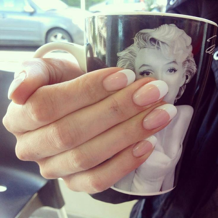 Ovale French – Nails – # French #nails #ovales – Nagel Designs