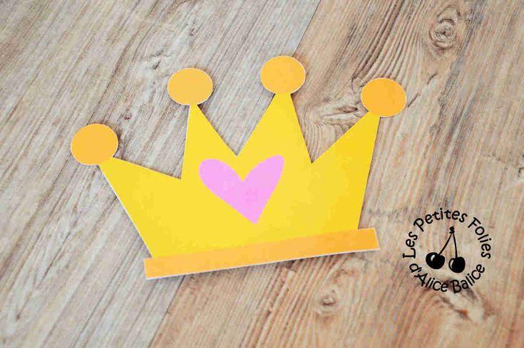 Anniversaire Princesse | activités jeux | couronne | diy