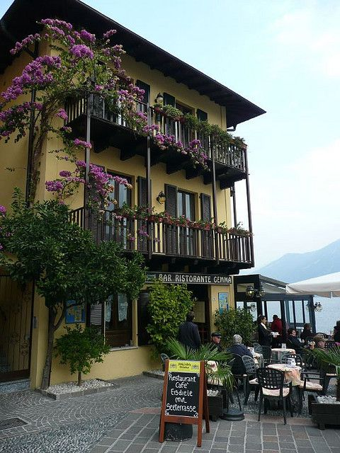 Ristorante Gemma in Limone, Lago di Garda, Italy: took my niece Gemma for lunch last summer. We enjoyed so much, we returned a few more times! Great views.