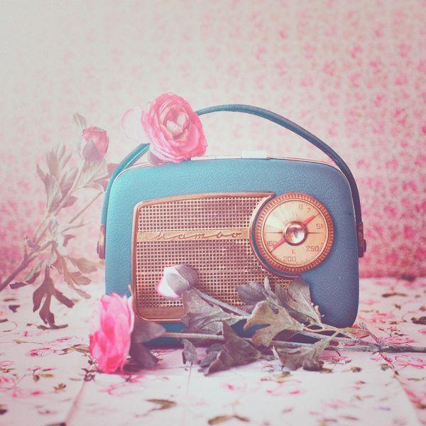 Vintage Radio. Art Print
