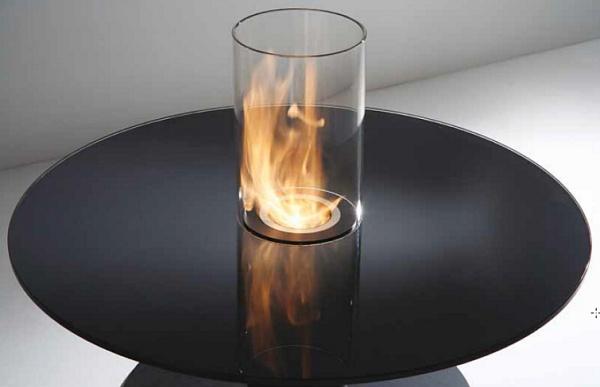 Modern Fireplace Design by Acquaefuoco