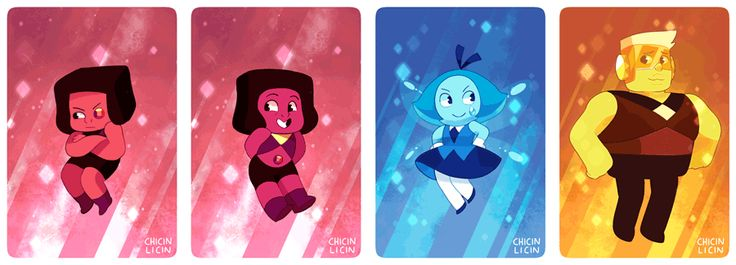 WOO! Every gem and fusion :D whenever there's anything new I'll be adding more! SET 1 | SET 2 | SET 3 | SET 4 | SET 5 | EVERYONE! | Garnet | Amethyst | Pearl | Steven | Rose | Sugilite | Opal | Lapis...