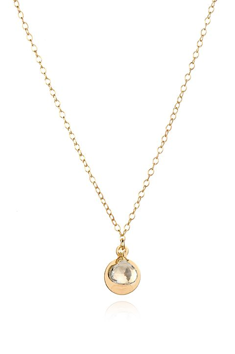 Forget Me Not Necklace — Amanda Rudey. Spotted from coast to coast, this delicate little necklace has been featured on Gossip Girl and 90210, AND it's my very favorite piece. Great for layering or just on it's own.