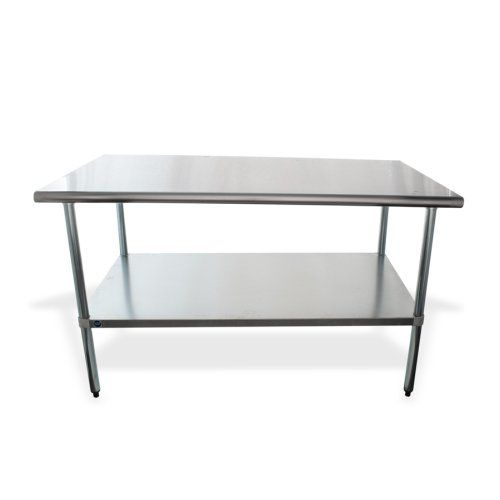 Universal 60 X 30 Stainless Steel Work Table W Under Shelf Stainless Steel Work Table Work Table Stainless Steel Table