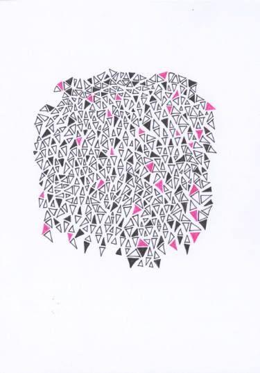 "Saatchi Art Artist lynnmarie szpak; Drawing, ""Trinity"" #art"