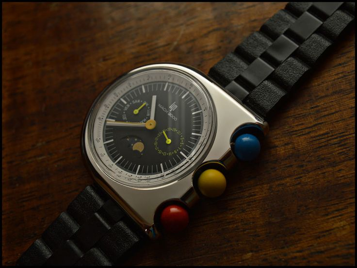 "FS: PROTOTYPE LIP TALLON MACH 2000 MOONPHASE ""NEW OLD STOCK"""