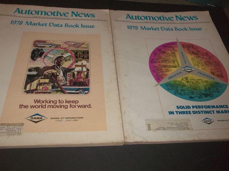 Lot 2 Vintage Automotive News Magazines Dodge Charger Mustang Corvette Mailbu