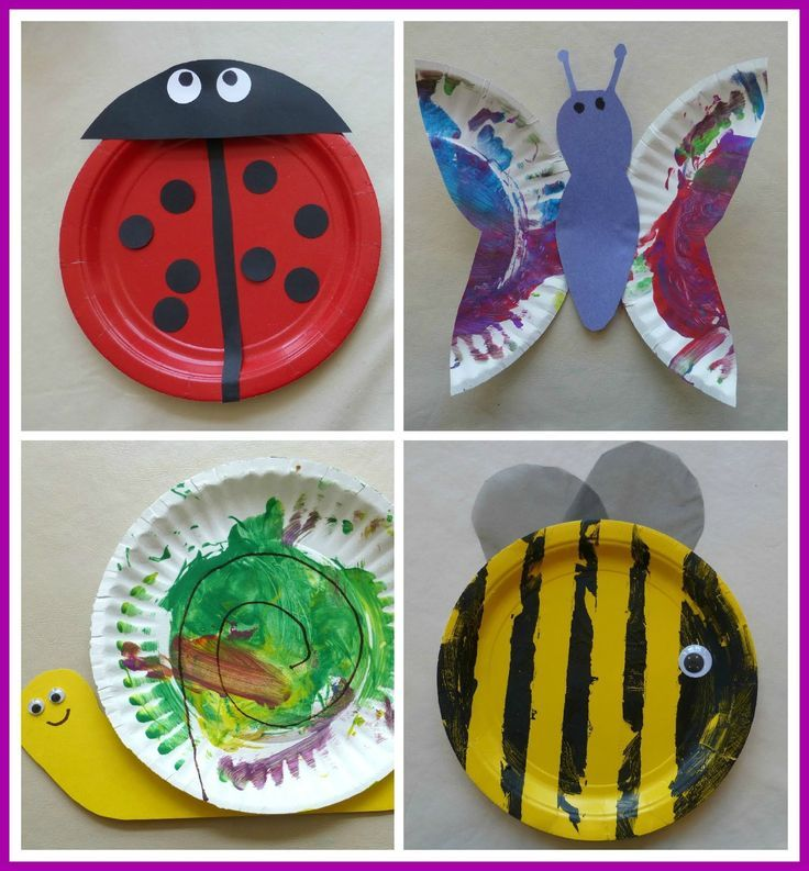 Paper Plate Bugs! #kidscrafts | Eagles Nest Preschool ideas  sc 1 st  Pinterest & 17 best Insects made with paper plates. images on Pinterest | Crafts ...