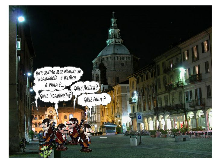 'ndrangheta a Pavia