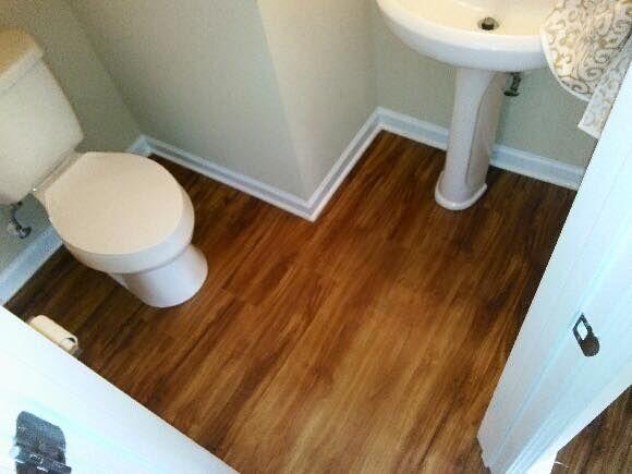 Lvt Cork Flooring In Bathroom Lvt Flooring Pinterest