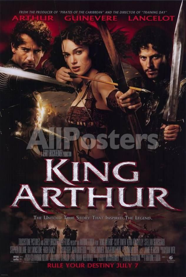 King Arthur Movies Masterprint - 28 x 43 cm