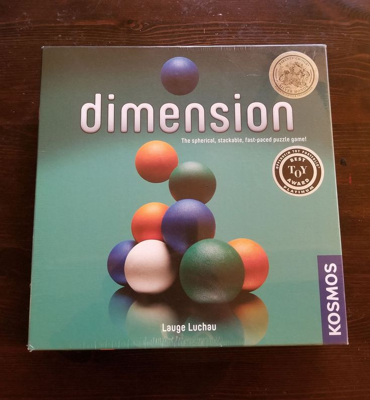NEW SEALED Dimension Sperical Stackable Puzzle Family educational Game  Kosmos