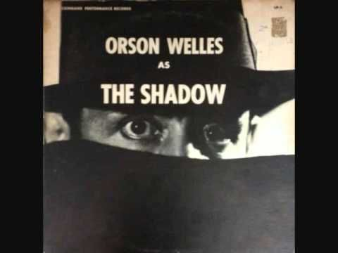 Orson Welles as The Shadow - The Message From The Hill (Full Episode Vinyl) Old Time Radio (1938)