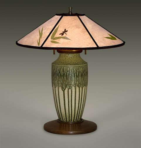 Mica Lamp Shades | Arts and Crafts Lighting | Bungalow Lamps The William Morris Studio