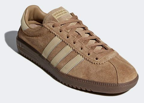 Adidas Bermuda trainers reissue in brown suede