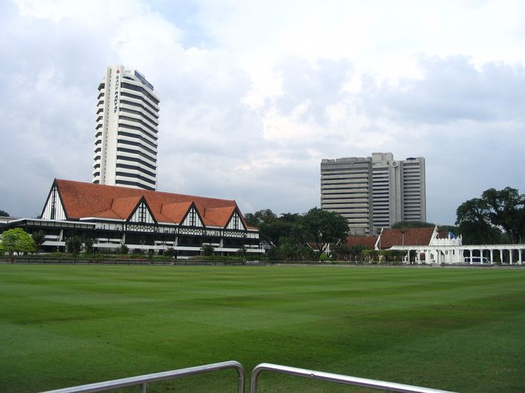 A favourite - Royal Selangor Club. This is where cricket is played.