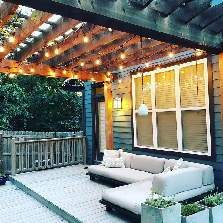 Outdoor Lighting Under Pergola: Top 25+ Best Pergola Lighting Ideas On Pinterest